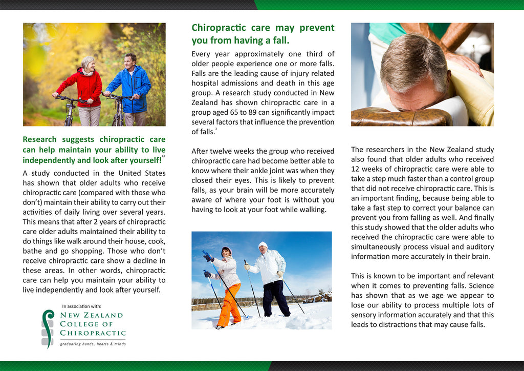 Brochure Older Adults - English