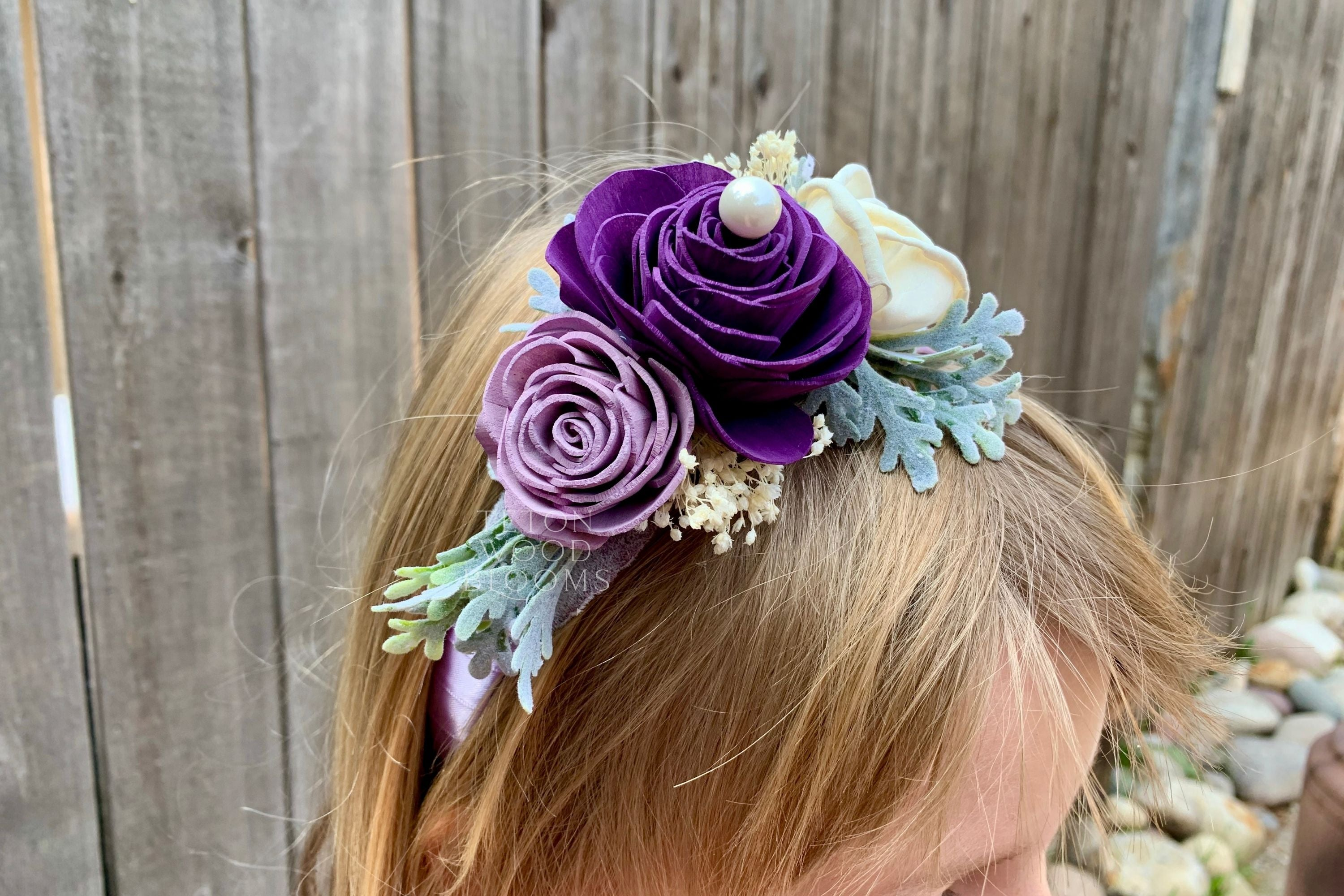 Custom Hair Combs and Headbands