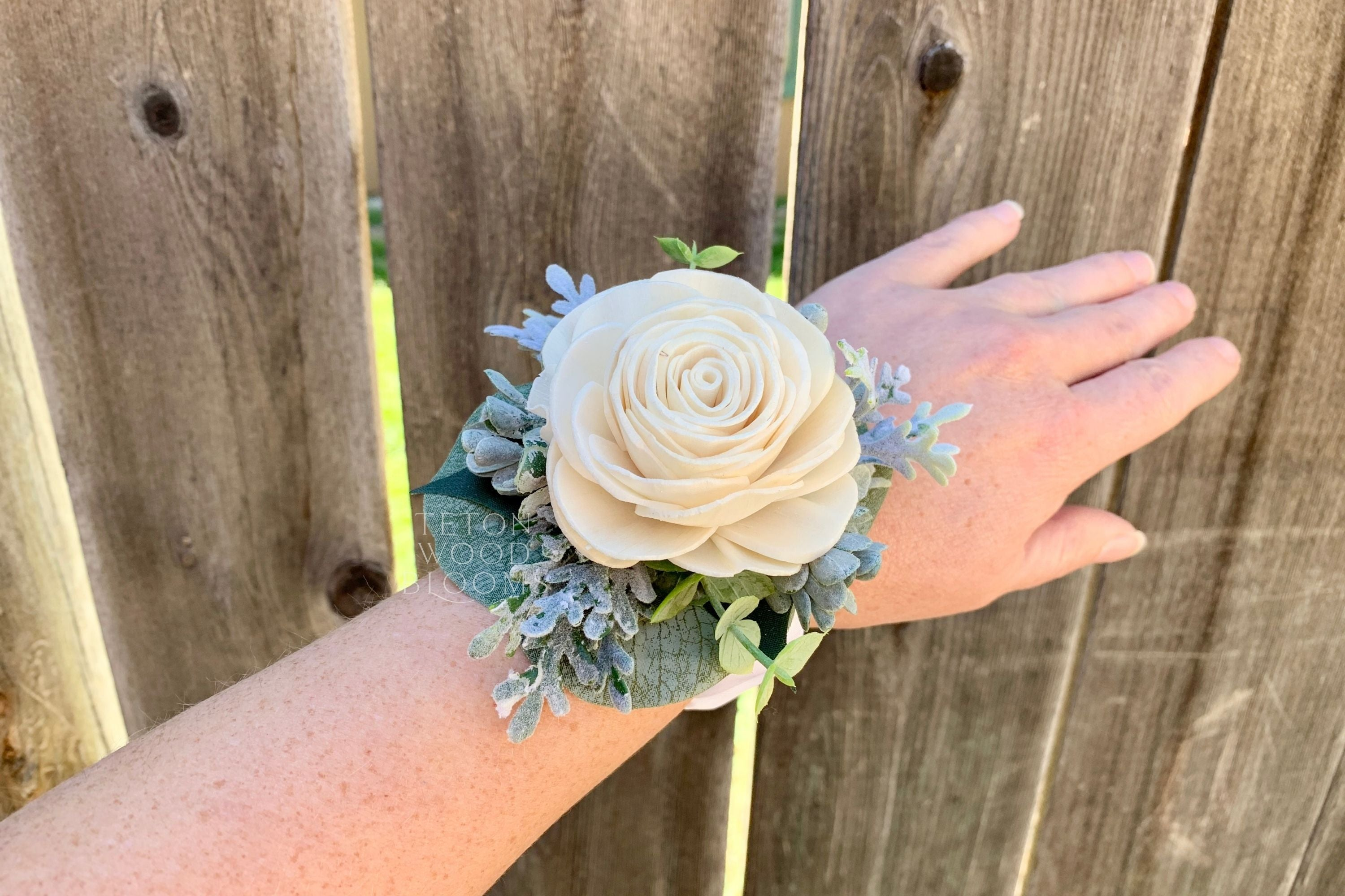 Single Rose Wrist Corsage