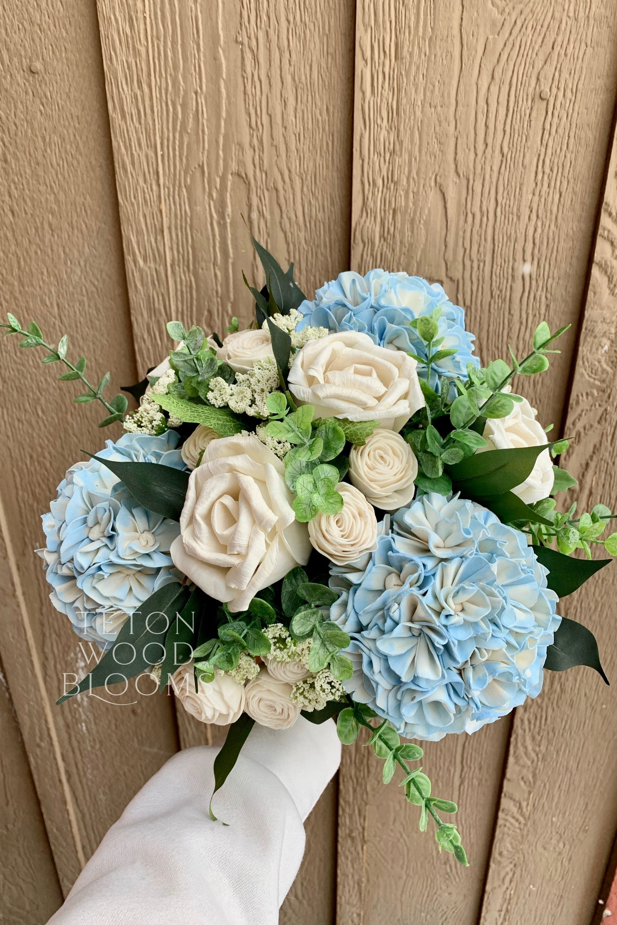 Hydrangea and Rose Bouquet