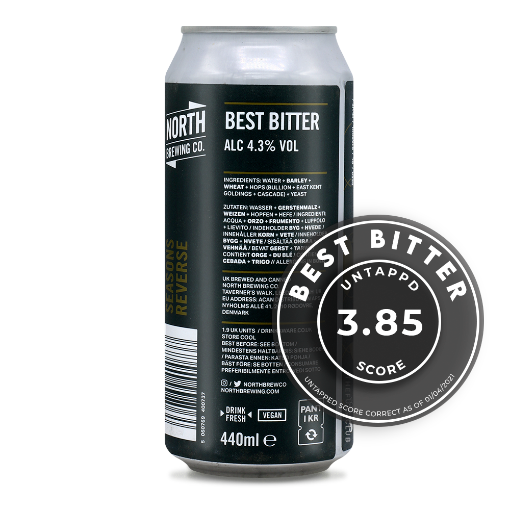North Brewing Co / Seasons Reverse / The Fuss Club Online Craft Beer Retailer UK