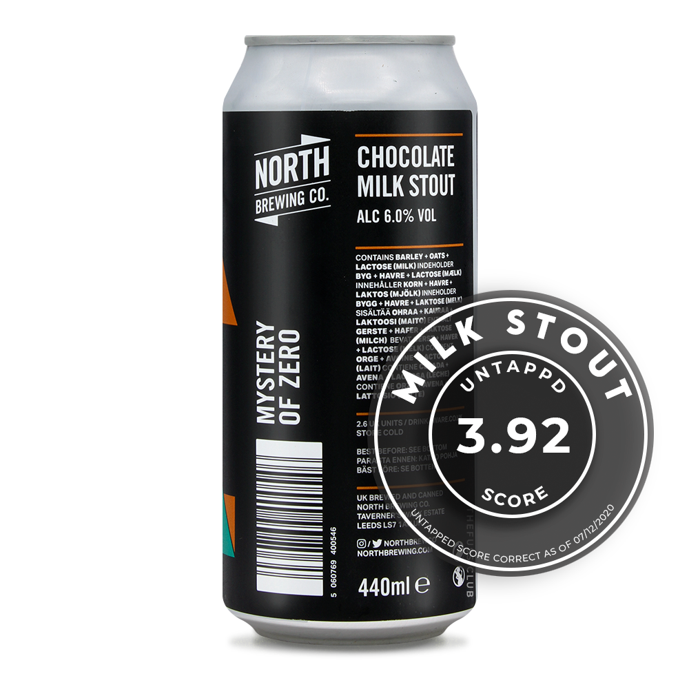 North Brewing Co / Mystery of Zero / The Fuss Club Online Craft Beer Retailer UK