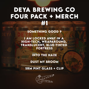 Deya Brewing Co. Four Pack + Merch #1