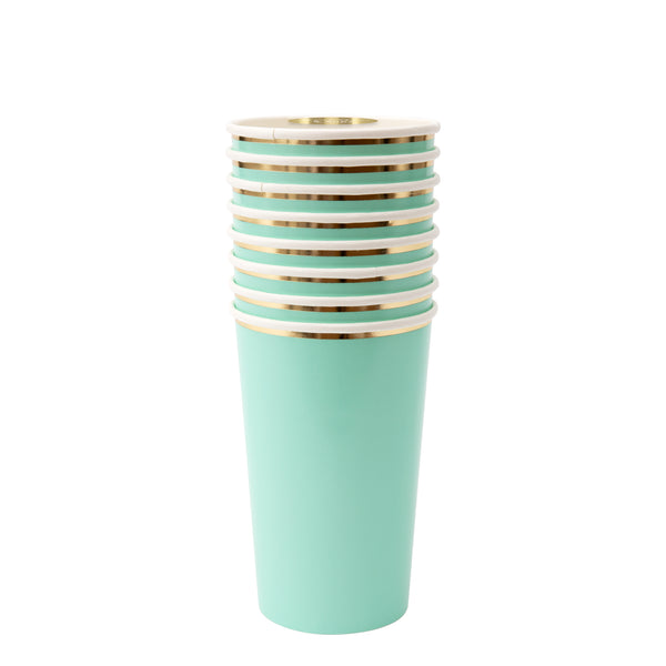 Meri Meri Mint Highball Cups