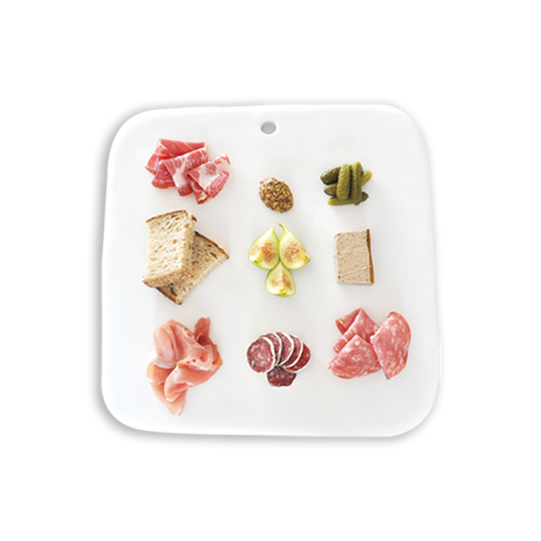 Tina Frey square charcuterie board (grey)