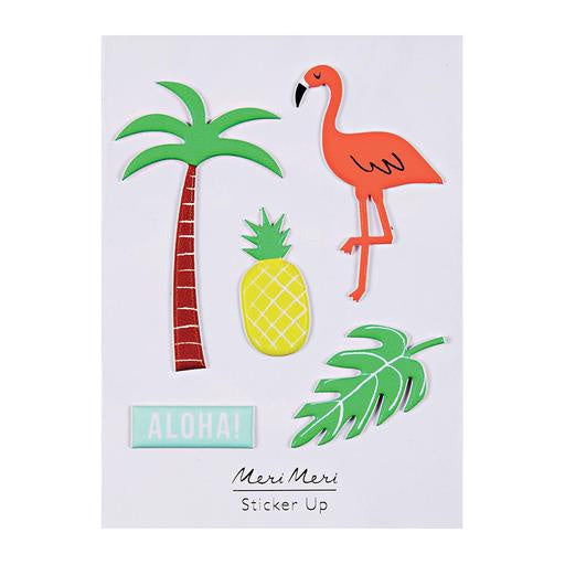 Meri Meri Tropical Puffy Stickers