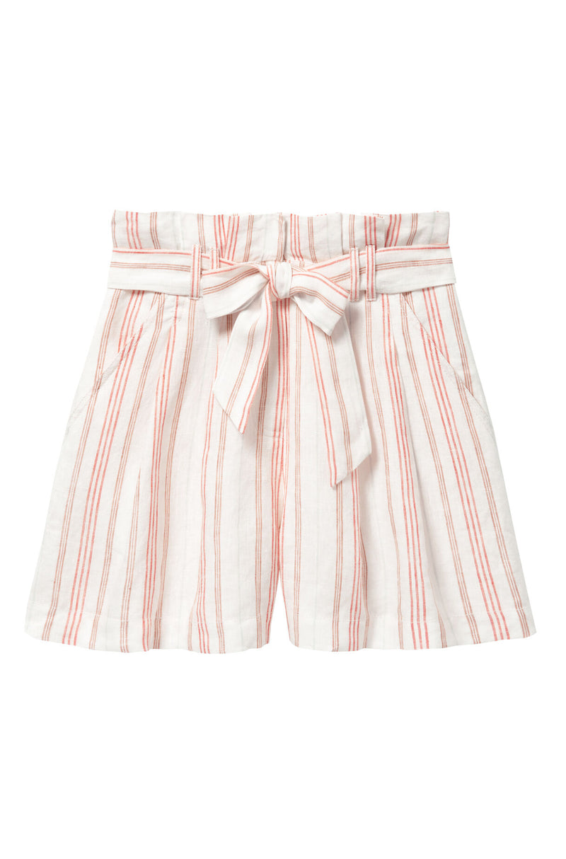 Rebecca Taylor Yarn Dyed Stripe Short Snow