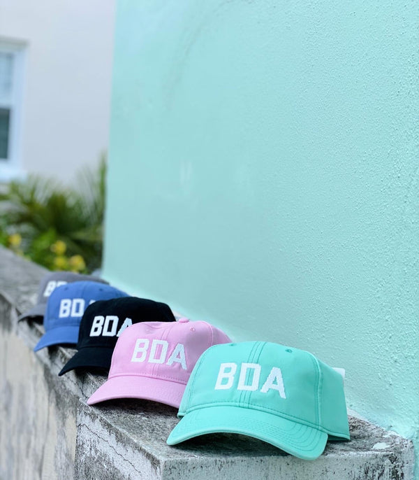 BDA Hat Black