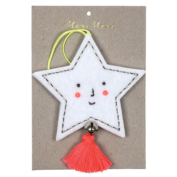 Meri Meri Felt Star Decoration