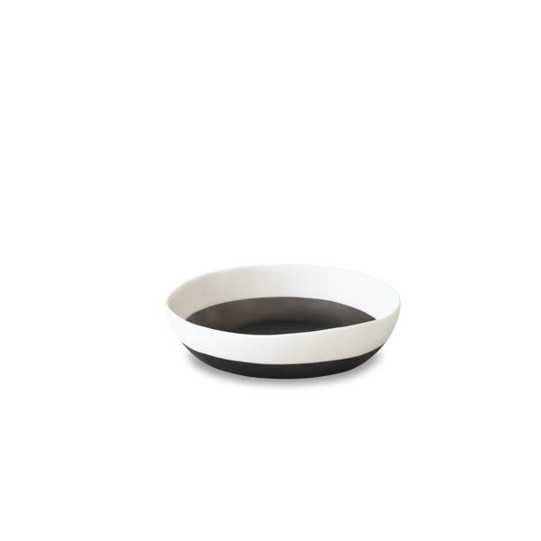 Tina Frey two color wide salad bowl (grey)