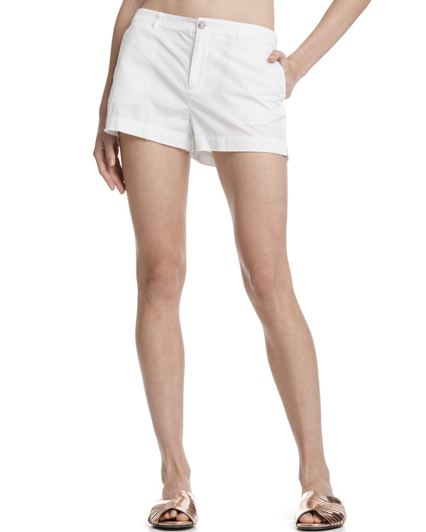 ATM Cotton Poplin Boyfriend Shorts