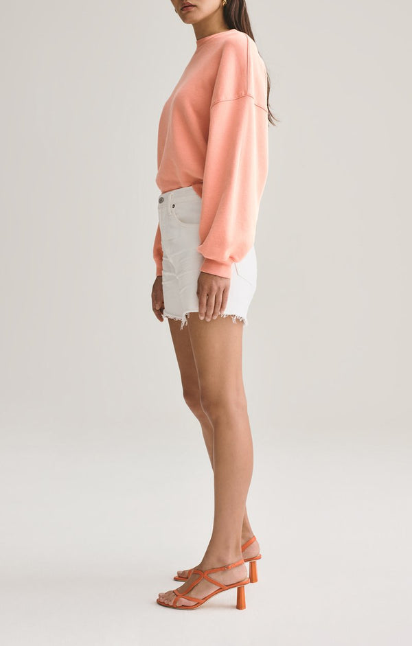Agolde Reese Relaxed Cut Off Short Tissue