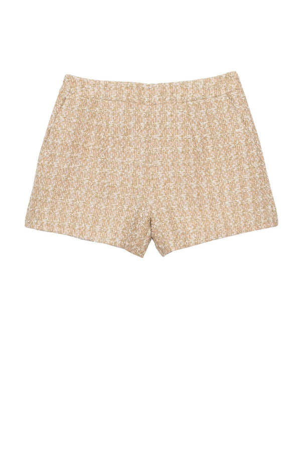 L'Agence Ashton Tweed Short Rose Gold