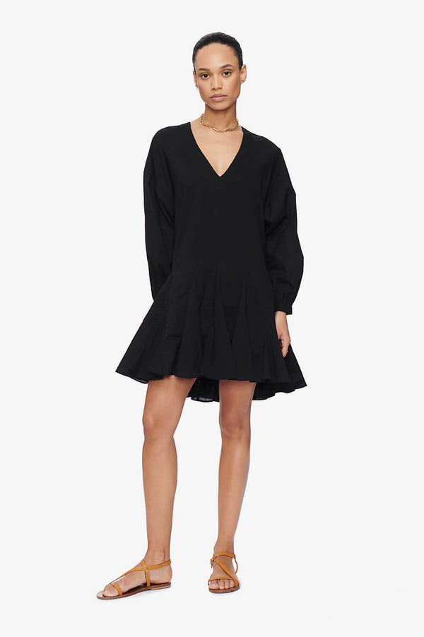 Anine Bing Peyton Dress Black