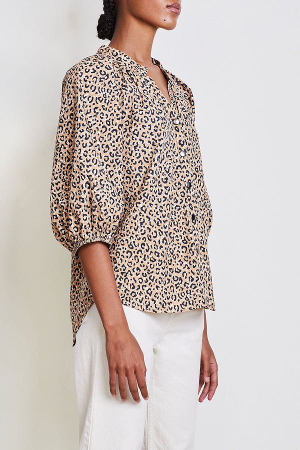 Apiece Apart Mitte Top Leopard Bouquet