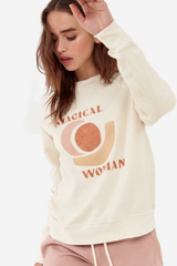Mate the Label Vintage Pullover Magical Woman Bone