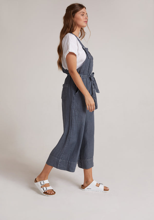Bella Dahl Belted Overall Storm Night