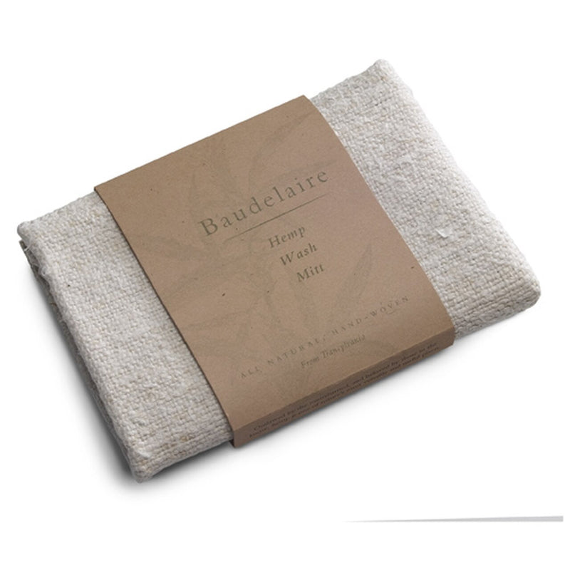 Baudelaire Hemp Wash Mitt