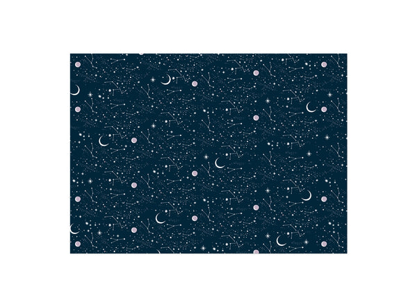 Red Cap Cards Moon and Stars Wrap Roll