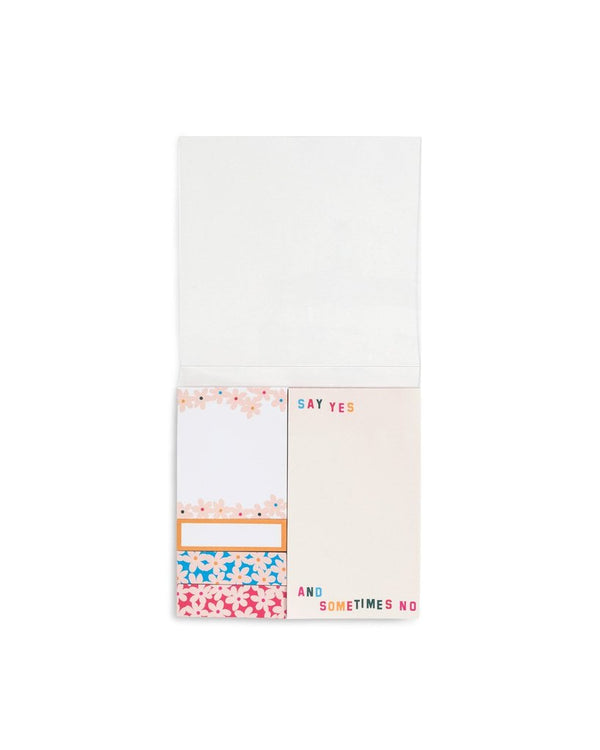Ban.do Sticky Note Set, Daisies