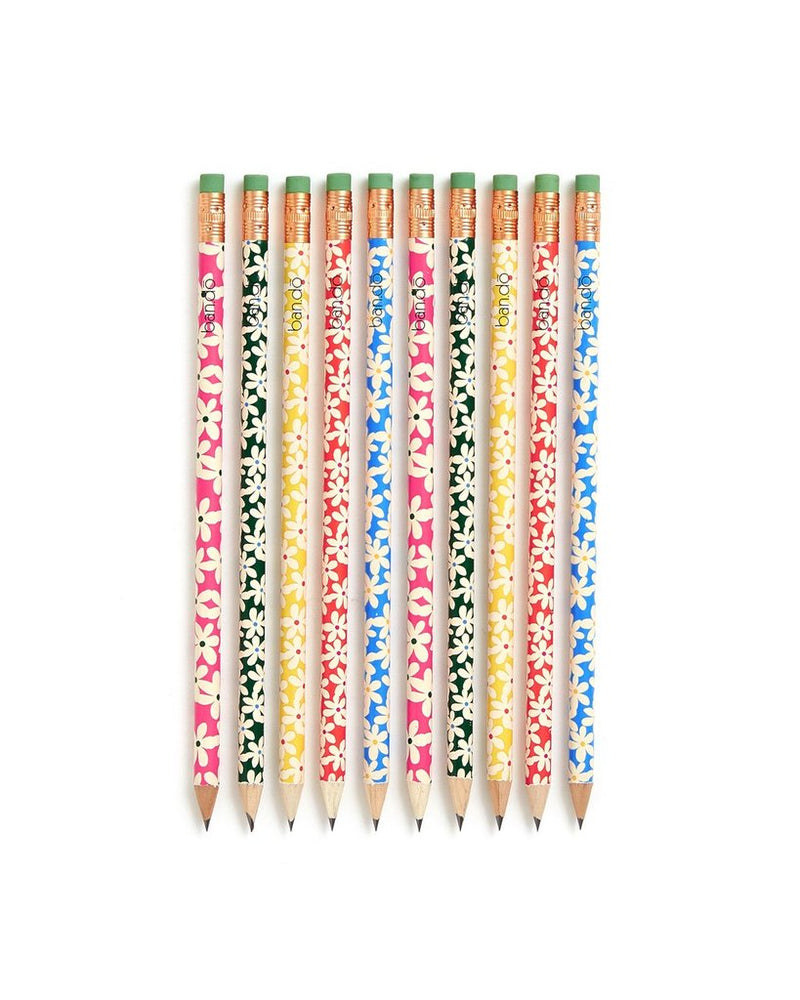 Ban.do Wooden Pencil, Daisies