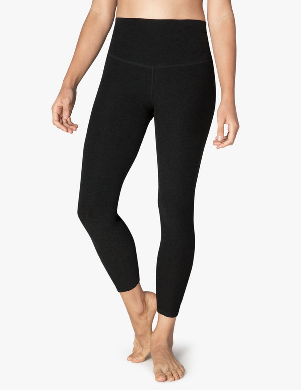 Beyond Yoga High Waisted Midi Legging Darkest Night