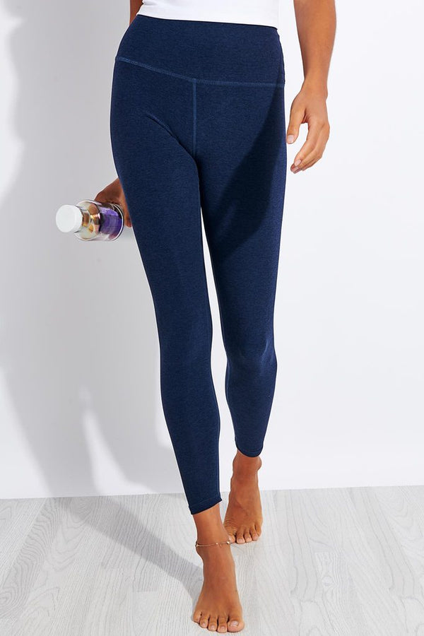 Beyond Yoga High Waisted Midi Legging Nocturnal Navy
