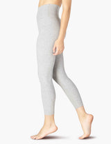 Beyond Yoga High Waisted Midi Legging Silver Mist