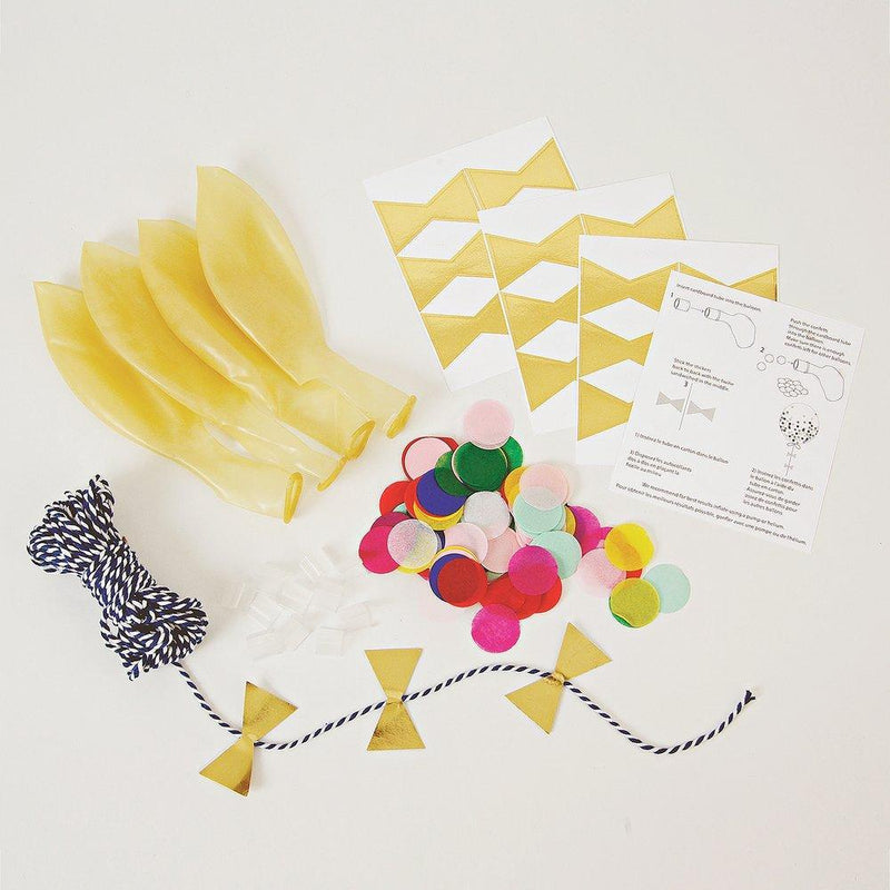 Meri Meri Bright Confetti Balloon Kit