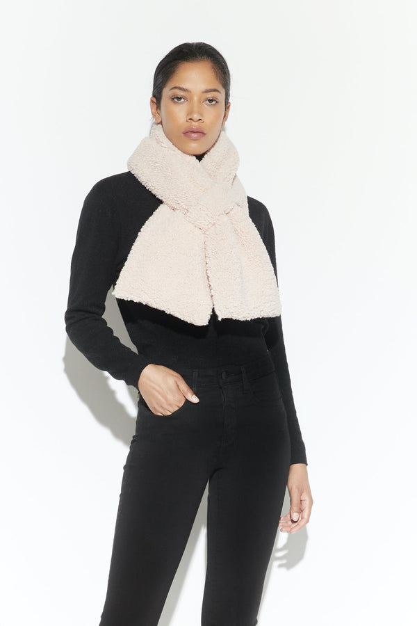 Apparis Caroline Scarf Shearling