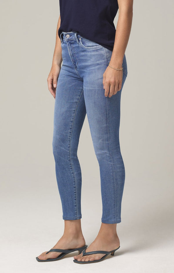Citizens of Humanity Rocket Crop Mid Rise Skinny Pirouette