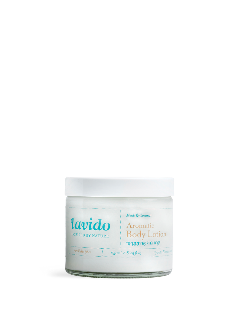 Lavido Aromatic Body Lotion, 250ml (Musk & Coconut)