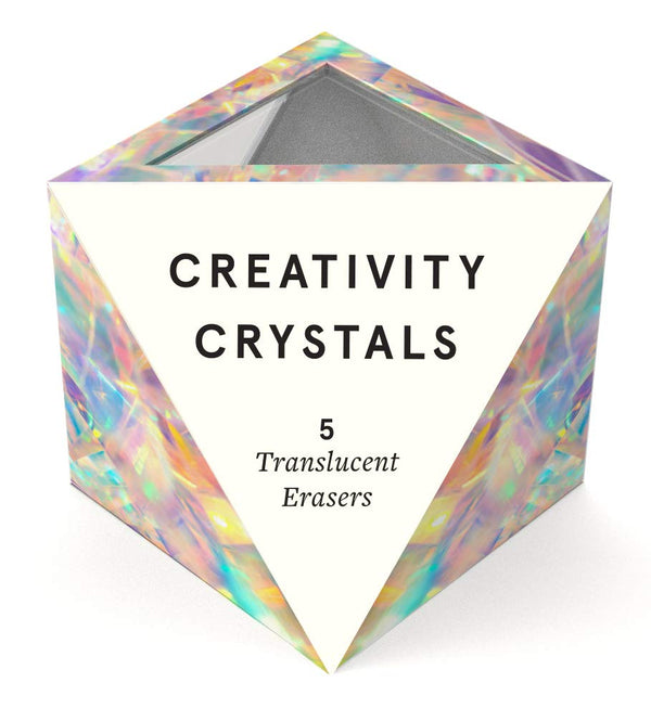 Creativity Crystals: 5 Translucent Erasers