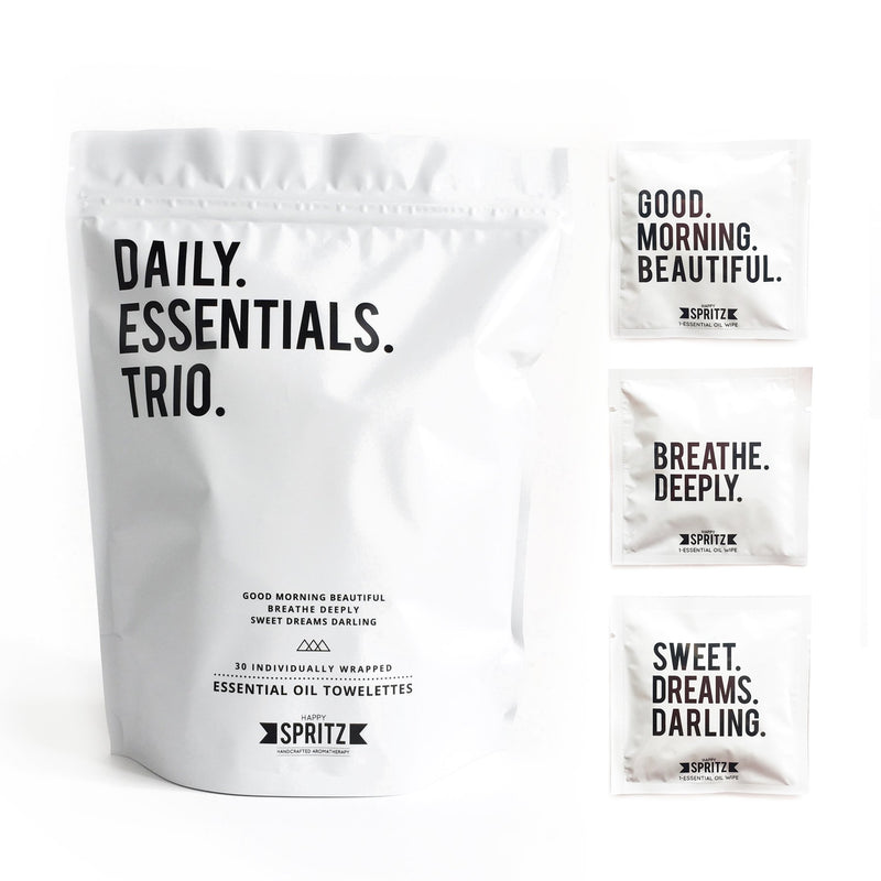 Happy Spritz Daily Essentials Trio