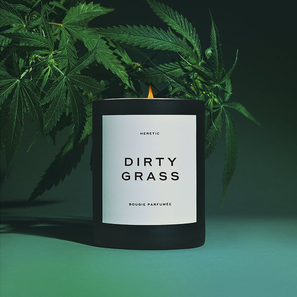 Heretic W-Dirty Grass Candle