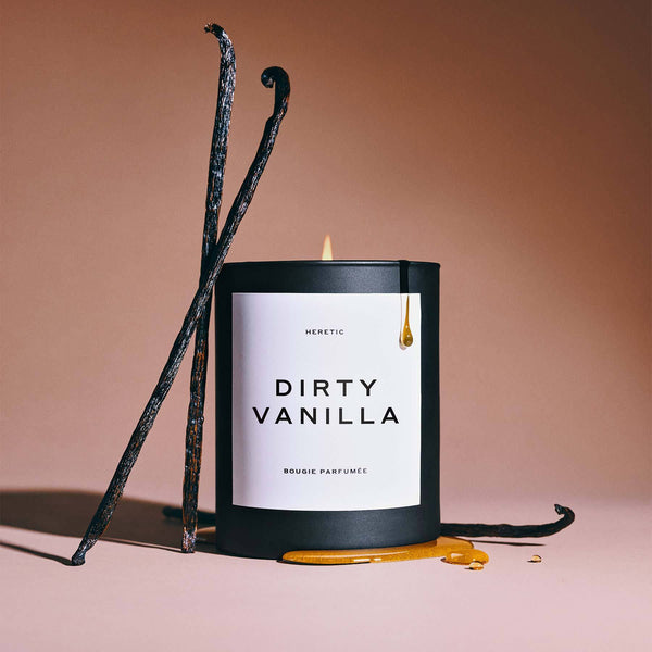 Heretic W-Dirty Vanilla Candle