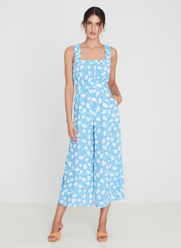 Faithfull the Brand Dolores Jumpsuit Leyla Floral Print