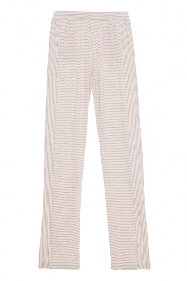 Eberjey Georgie Not So Basic Pant Natural/Lino