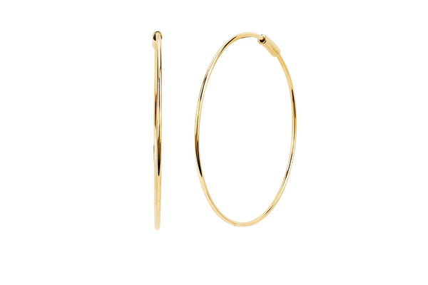 EF Collection The Perfect Gold Hoop (PAIR)