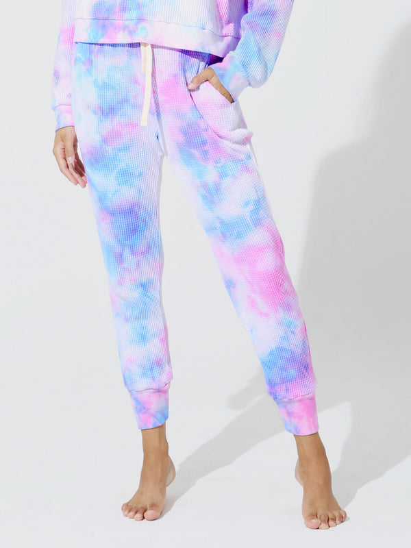 Electric & Rose Wesley Sweatpant-Bloom Rosey/Wave