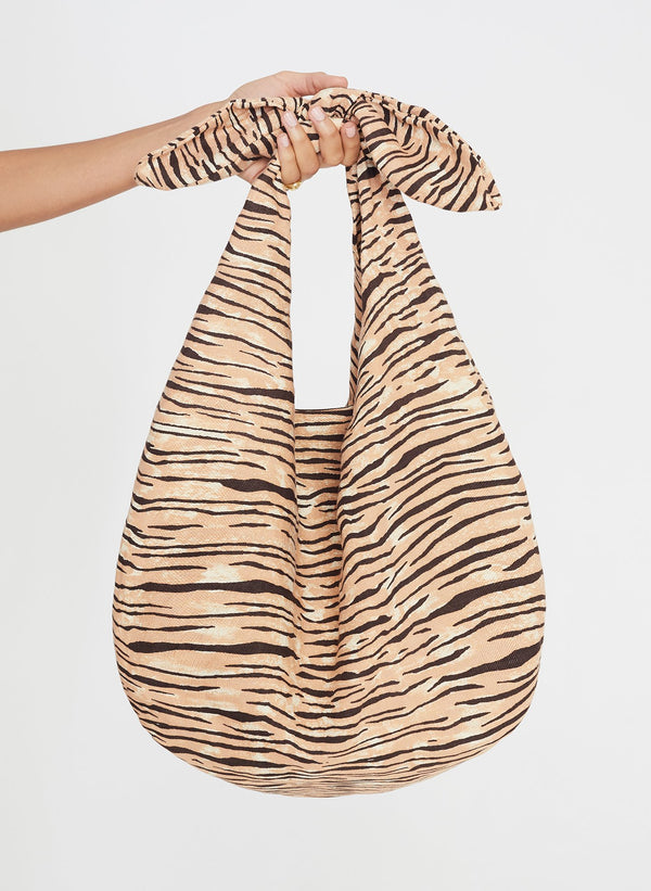 Faithfull the Brand Hanna Tote Bag Wyldie Animal Print