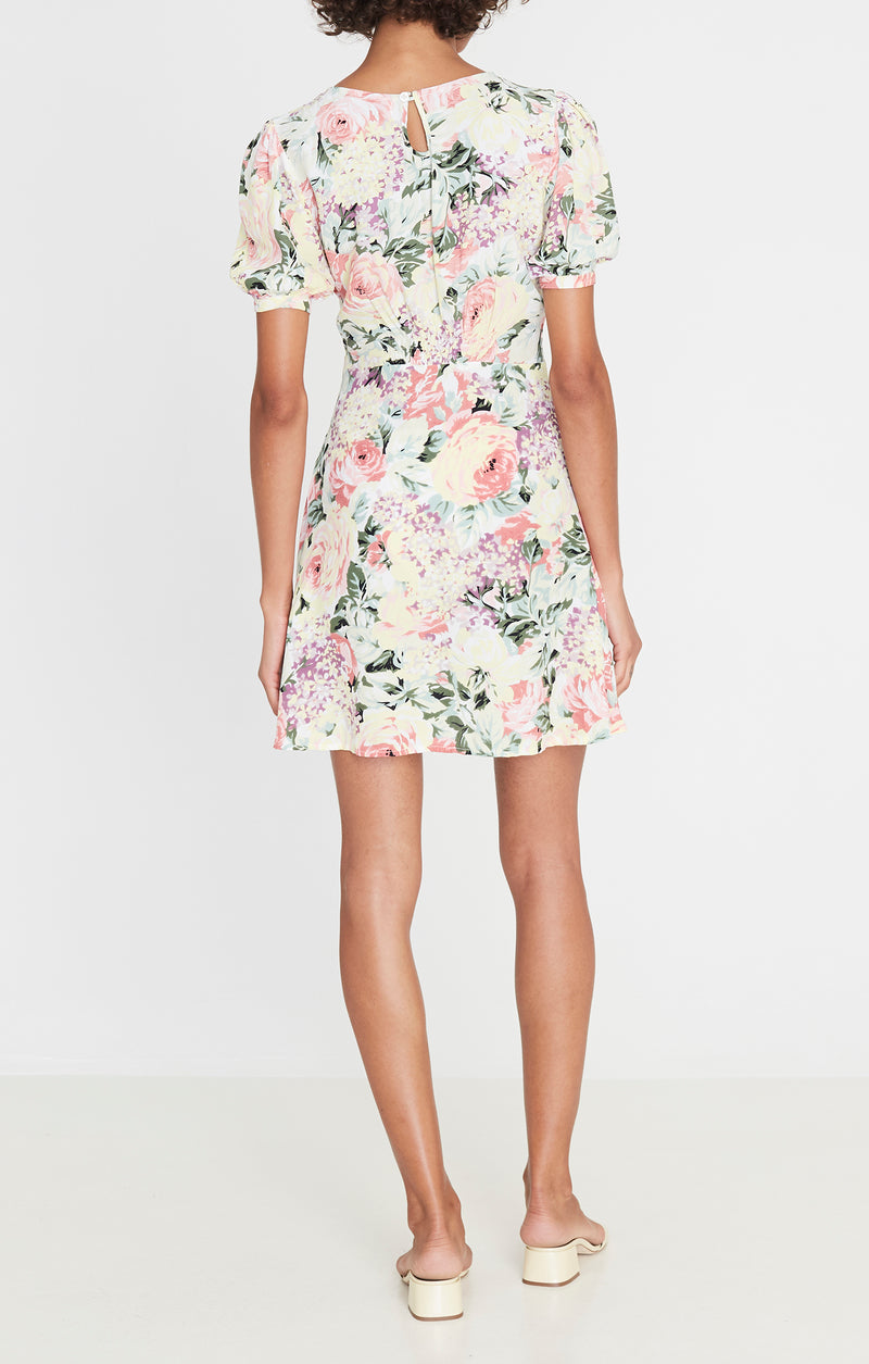 Faithfull the Brand Sidonie Mini Dress Venissa Floral Print