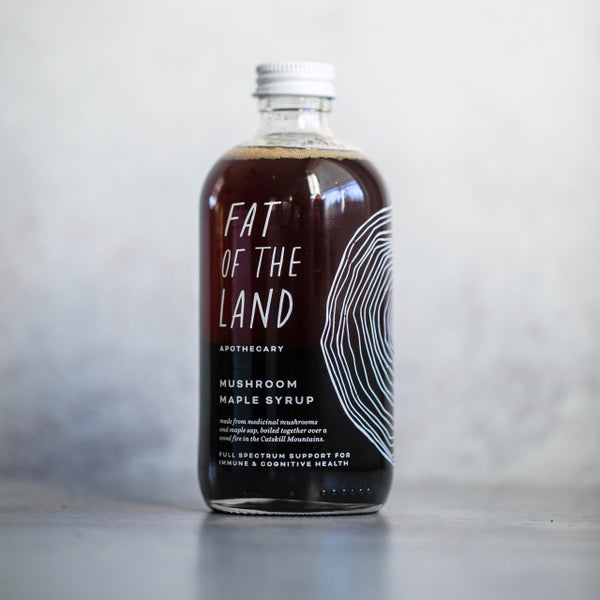 Fat of the Land Apothecary Mushroom Maple Syrup