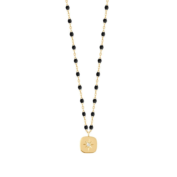 "Gigi Clozeau 18K Classic Miss Gigi Necklace 16"" Yellow Gold"