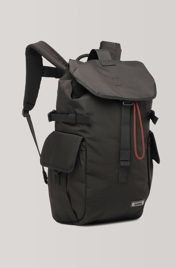 Ganni Backpack Black