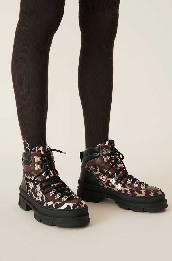 Ganni Hiking Mix Sporty Boot