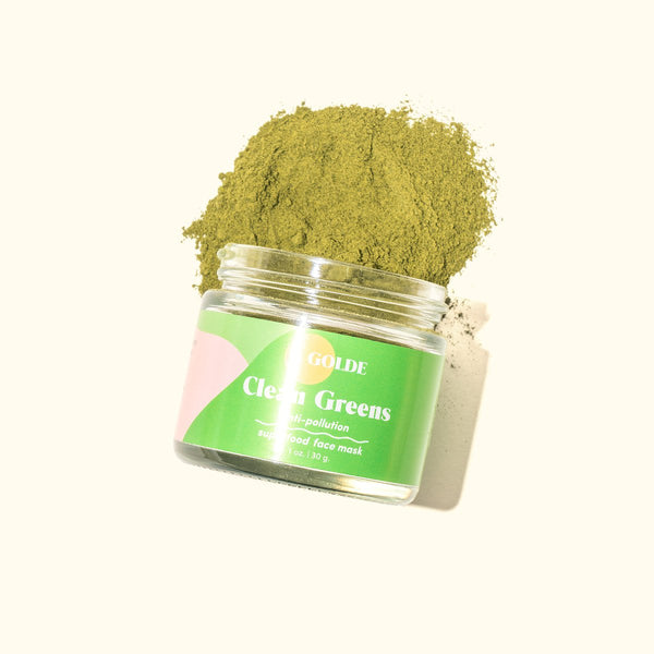 Golde Beauty Clean Greens Anti-Pollution Face Mask