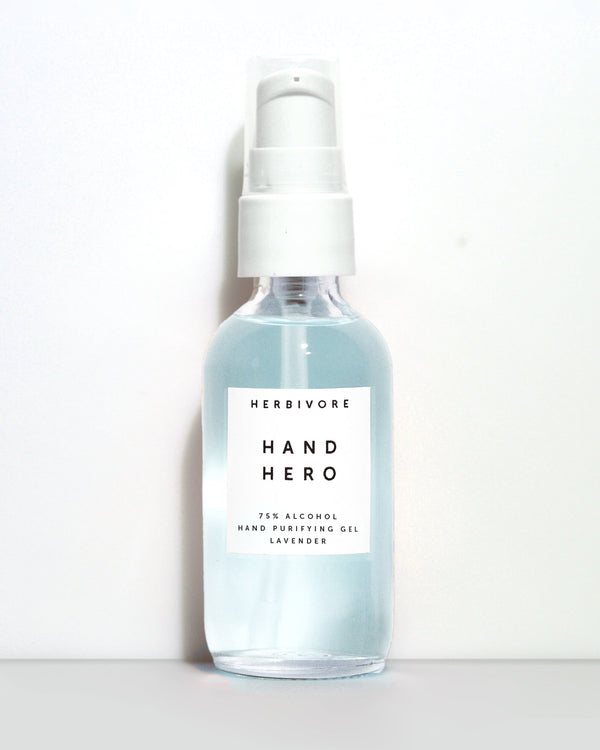 Herbivore Hand Hero 75% Alcohol Hand Purifying Gel - Lavender