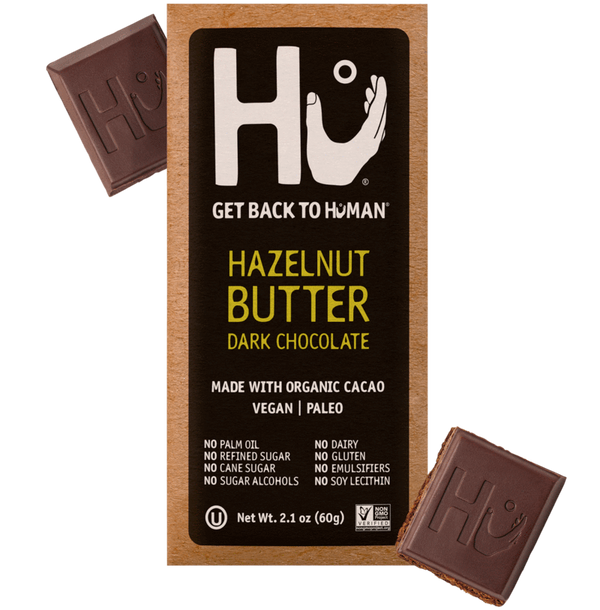 Hu Kitchen Dark Chocolate Bar Hazelnut Butter