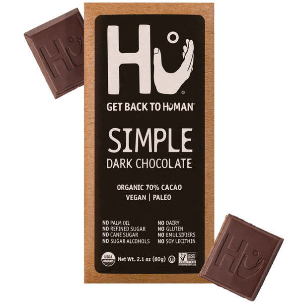 Hu Kitchen Dark Chocolate Bar Simple